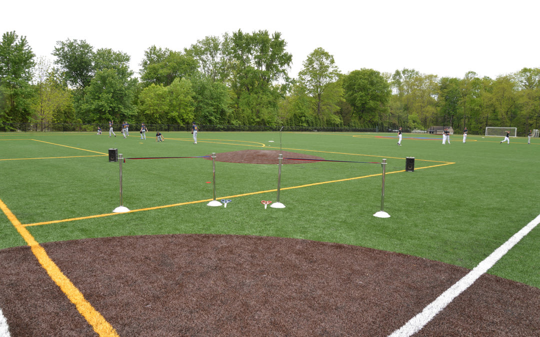 RIBBON CUTTING AT SYNTHETIC TURF FIELD