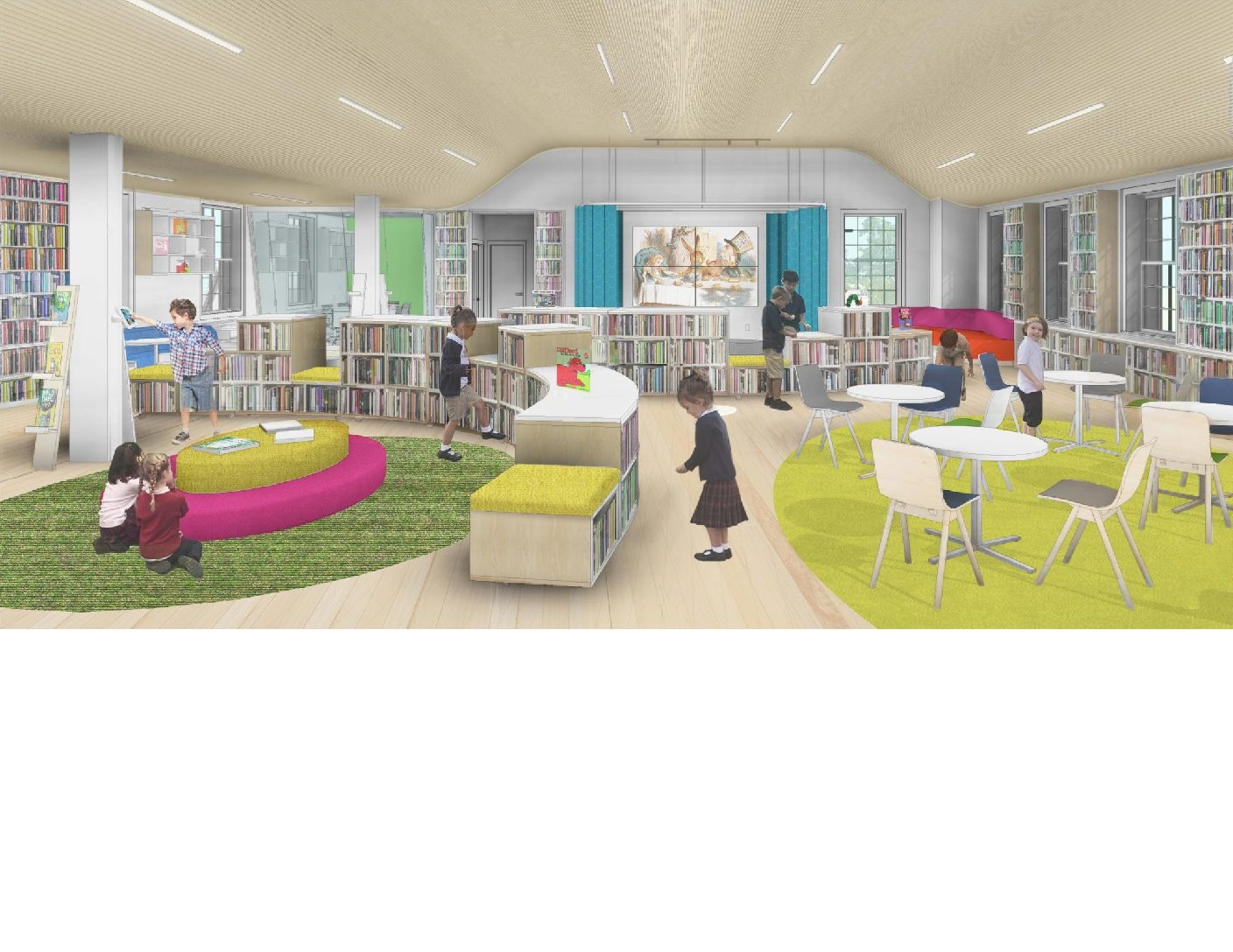 GERMANTOWN ACADEMY LOWER SCHOOL LIBRARY