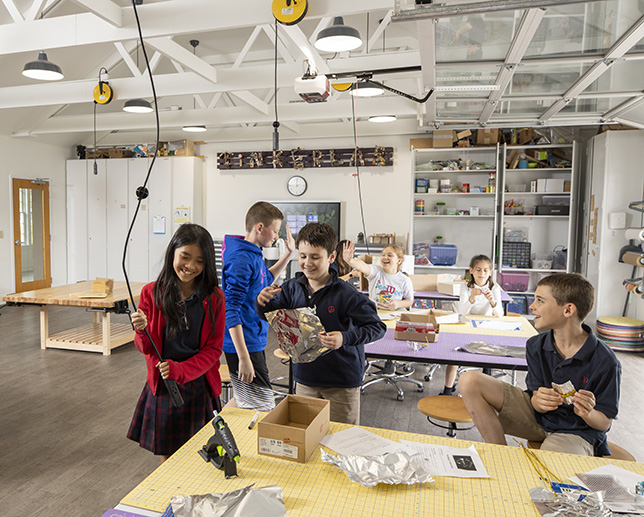 Germantown Academy's Tinker Lab Receives Praise