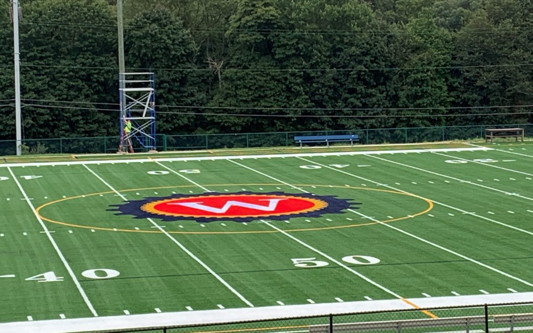 Williamson Trade School Field Complete
